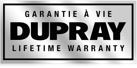 Dupray Warranty: 3 years on Parts and a Lifetime Warranty on the Boiler. The best in the industry!